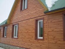 Использование сайдинга «L-брус» при строительстве деревянных домов