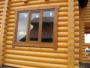 Окна для деревянных домов под старину