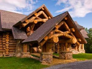 Строительство деревянных домов под старину