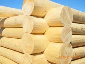 Деревянные срубы домов
