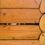 щели и зазоры в деревянном доме